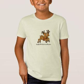 T-Shirt La chemise au nez rouge de renne