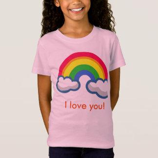 T-Shirt La chemise d'arc-en-ciel