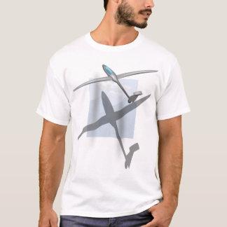 T-shirt La chemise de base des hommes de glissement