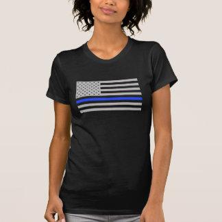T-shirt La chemise de Blue Line des femmes minces de