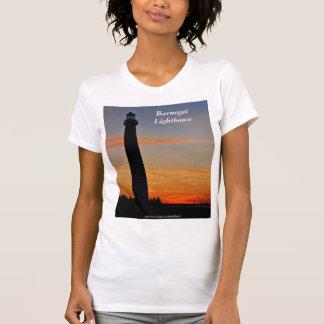 T-shirt La chemise de la femme du phare IV de Barnegat