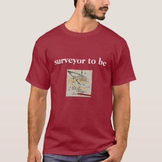 T-shirt La chemise de l'arpenteur pour les hommes - cru