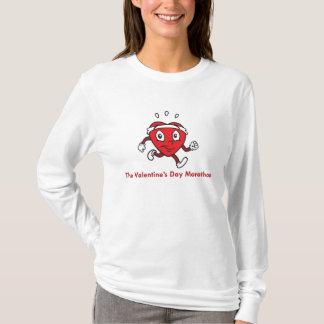 T-shirt La chemise de marathon de jour de Valentines