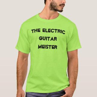 T-shirt La chemise de Meister de guitare électrique