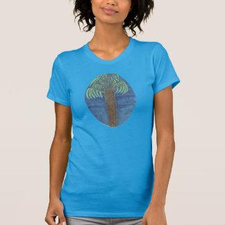 T-shirt La chemise de palmier par Julia Hanna