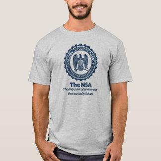 T-shirt La chemise de parodie de NSA