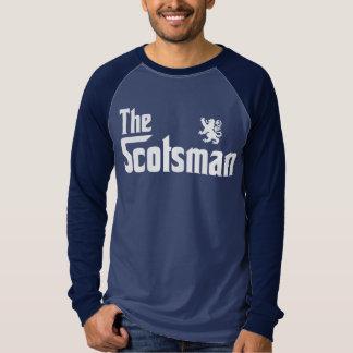 T-shirt La chemise de raglan de Scotsman