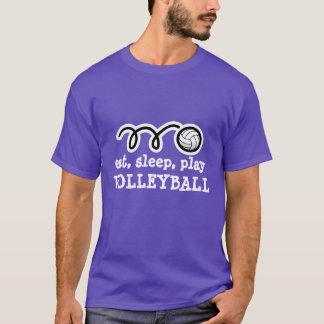 T-shirt La chemise de volleyball avec la citation drôle |