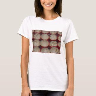 T-shirt La chemise des femmes de petit pain de crêpe de