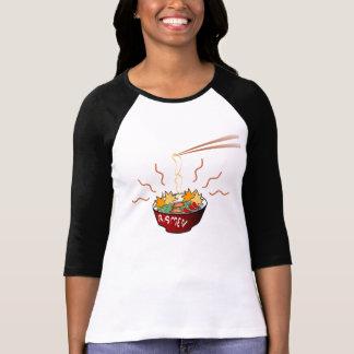 T-shirt la chemise des femmes de ramen
