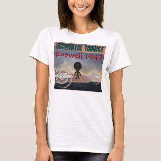 T-shirt La chemise des femmes de Roswell 1947