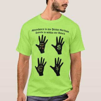 T-shirt La chemise des hommes d'abondance