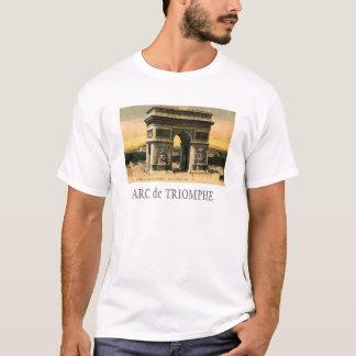 T-shirt La chemise des hommes d'Arc de Triomphe
