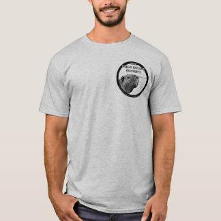 T-shirt La chemise des hommes de CSAD - noir sur la