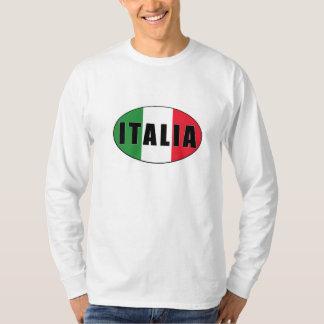 T-shirt La chemise des hommes italiens de logo