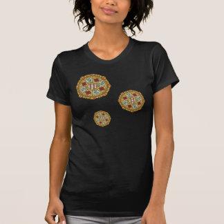 T-shirt La chemise foncée des femmes de Nouveau de chute