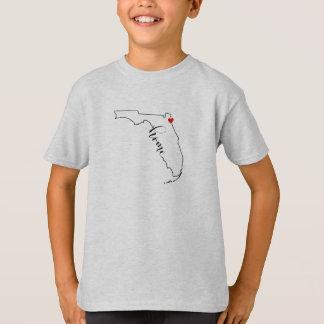 T-shirt La chemise Jacksonville de l'enfant à la maison de