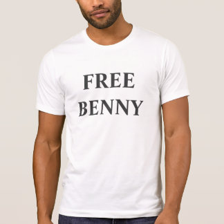 """T-shirt La chemise officielle """"de Benny libre"""" de gardien"""