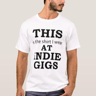 T-shirt La chemise que j'utilise aux yoles indépendantes