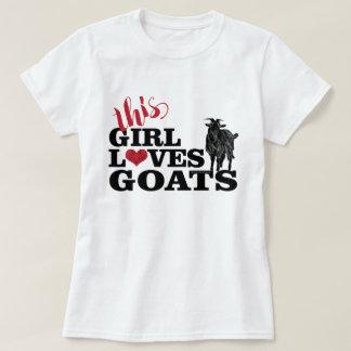 T-shirt La CHÈVRE | cette fille aime le mâle de laiterie