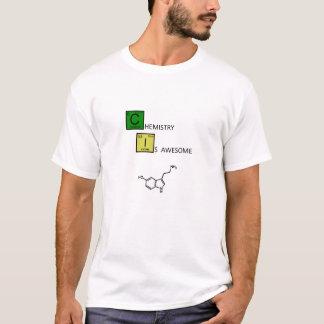 T-shirt La chimie est impressionnante ! (avec la molécule