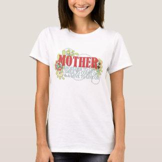 T-shirt La citation de la mère