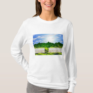 T-shirt La clôture blanche de BÉBÉ PEUT-ÊTRE rêve la