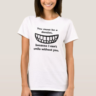T-shirt La collecte : Dentiste