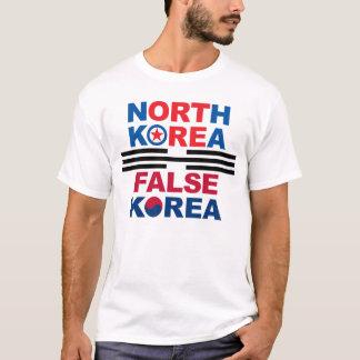 T-shirt La Corée du Nord   Corée fausse