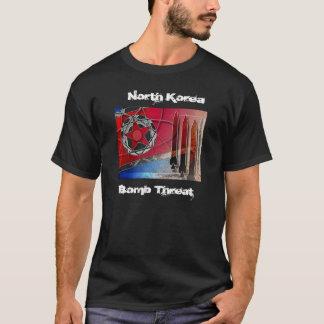 T-shirt , la Corée du Nord, menace de bombe