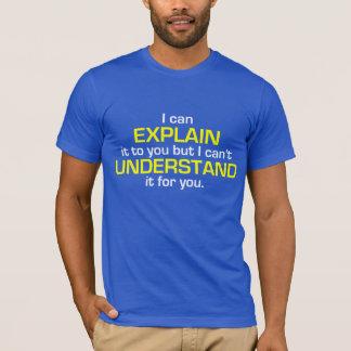 T-shirt La devise de l'ingénieur