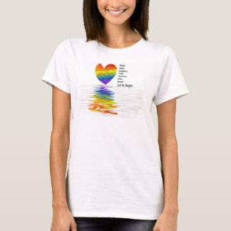 T-shirt La dignité, justice, vérité… nous a laissés