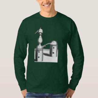 T-shirt La distillation d'alchimie usine l'avant et le dos