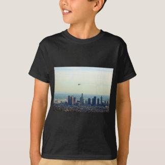 T-shirt LA et hélicoptère