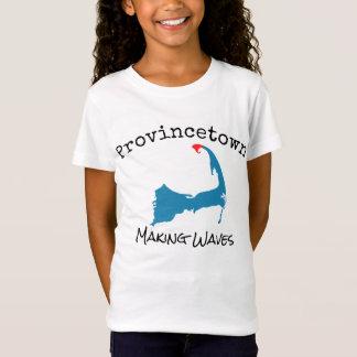 T-Shirt La fabrication de masse de Provincetown ondule