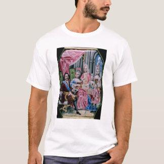 T-shirt La famille de l'empereur Peter I, le grand, 1717