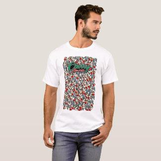 T-shirt La ferme de la cerise des hommes font dans le