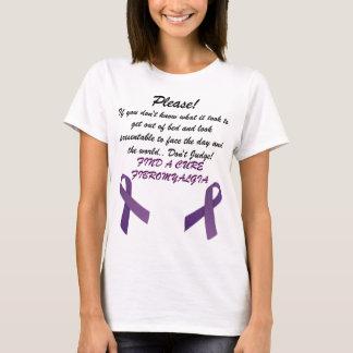T-shirt La fibromyalgie trouvent un traitement !