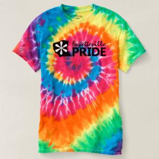 T-shirt La fierté de Fayetteville teignent en nouant la