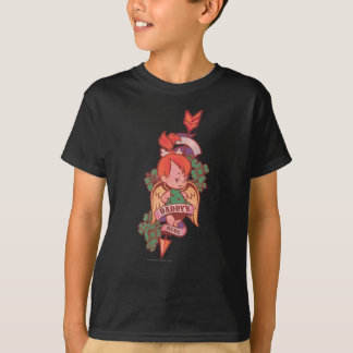 T-shirt La fille 1 du papa de PEBBLES™