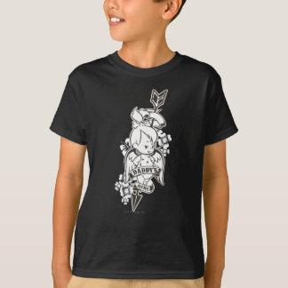 T-shirt La fille 2 du papa de PEBBLES™