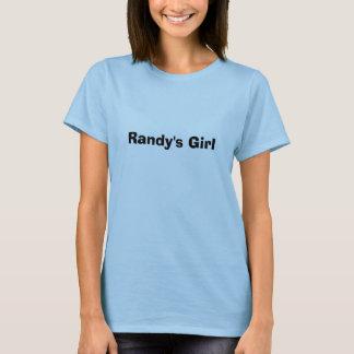 T-shirt La fille de Randy