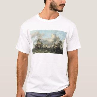 T-shirt La flotte néerlandaise de la compagnie de l'Inde,