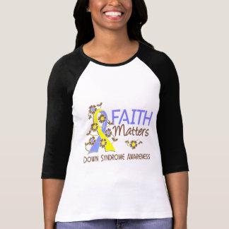 T-shirt La foi importe 3 syndrome de Down