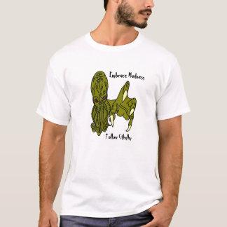 T-shirt La folie d'étreinte, suivent Cthulhu