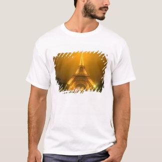 T-shirt La France, Paris. Tour Eiffel illuminé à 3