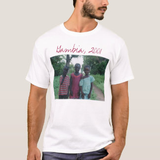 T-shirt La Gambie, Afrique