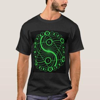 T-shirt La géométrie sacrée - code source