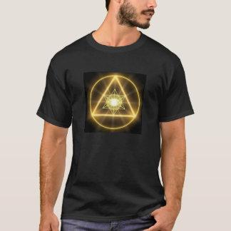 T-shirt La géométrie sacrée - Metatron rougeoyant