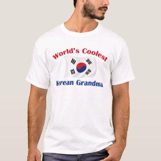 T-shirt La grand-maman coréenne la plus fraîche